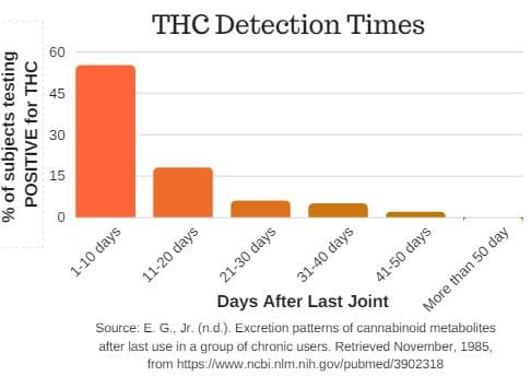 thc detection times